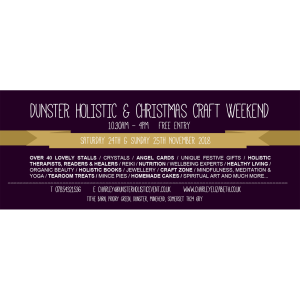 Dunster Holistic & Christmas Craft Fair