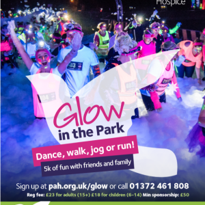 Glow in the Park for Princess Alice Hospice @PAHOSPICE