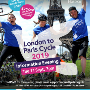 London to Paris Charity Cycle Event