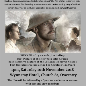 The Burying Party – Shropshire WW1 Film Festival