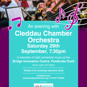 An Evening with Cleddau Chamber Orchestra