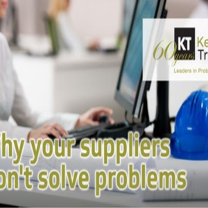 Why suppliers don't solve Problems - Webinar