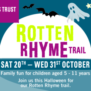 Rotten Rhyme Halloween Trail