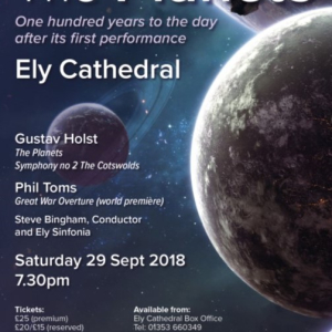 Holst's The Planets - 100 years to the day after the first performance
