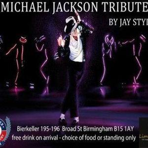 Michael Jackson Tribute - Jay Styles as King of pop - Birmingham Bierkeller