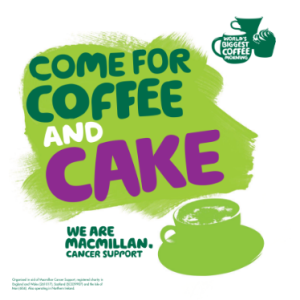 Millom MacMillan Cancer support coffee morning