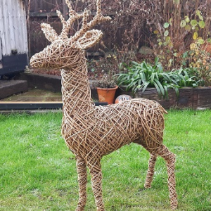 Deer in a Day Christmas Willow Workshop
