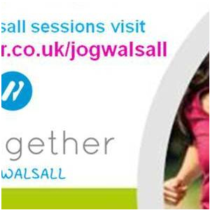 Jog Walsall Couch to 5k at Oak Park Active Living Centre. Thursday 10am. Sept-Dec 2018. 12 weeks
