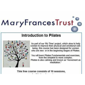 Introduction to Pilates with Mary Frances Trust #Epsom @MaryFrancesTrst #MYTIME FREE 10 session course