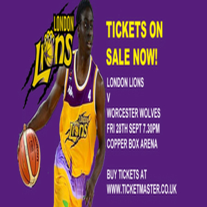 London Lions v Worcester Wolves - Premiership Basketball in London