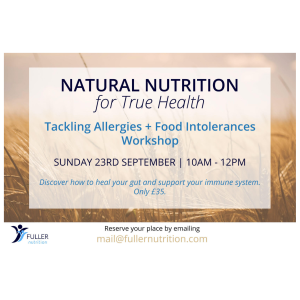 NATURAL NUTRITION FOR TRUE HEALTH WITH FULLER NUTRITION