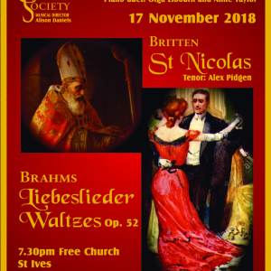 St Ives Choral Society Autumn Concert