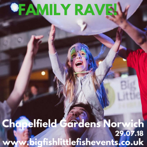 Big Fish Little Fish - Family Rave - Epic Studios