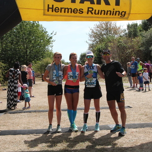Thames Meander Half-Marathon and Marathon, March 2019