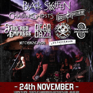 Camden Rocks All Dayer feat. Black Sixteen and more at The Monarch