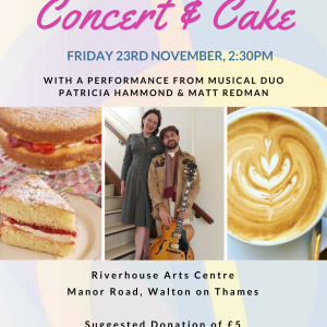 Concert & Cake at The Riverhouse