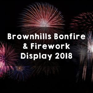 Brownhills Bonfire & Fireworks Display 2018