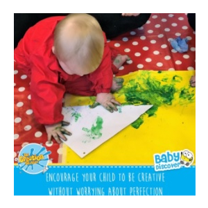 Baby Discovers - Baby creative messy play sessions