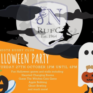 St Neots Rugby Club Halloween Party