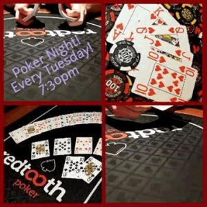 Poker Night every Tuesday at Luda!