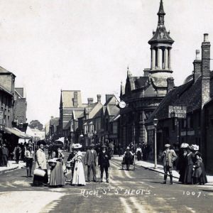 Town walks with St Neots Museum - 'From Half Moons to White Lyons''