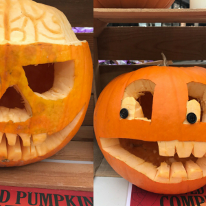 ST HELIER'S CARVED PUMPKIN COMPETITION