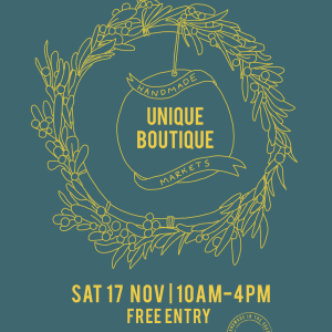 Unique Boutique Handmade Christmas market