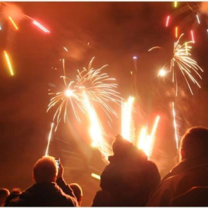 Haverfordwest Rugby Football Club Firework Display.