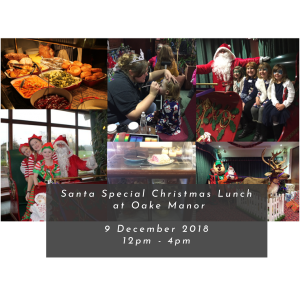 Santa Special Sunday Lunch at Oake Manor