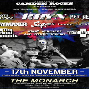 Camden Rocks All Dayer feat. Rhyn and more at The Monarch