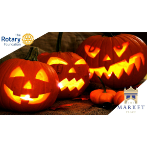 PUMPKIN CARVING IN MARKET SQUARE WITH ROTARY GUERNESAIS