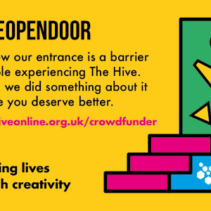 The Hive Crowdfunder #HiveOpenDoor