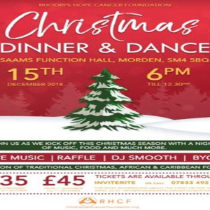 Rhodri's Hope Cancer Foundation - Christmas Dinner and Dance