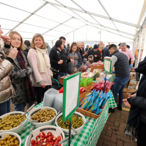 Garsons of Esher's Christmas Food Market