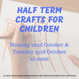 Half Term Crafts for Children