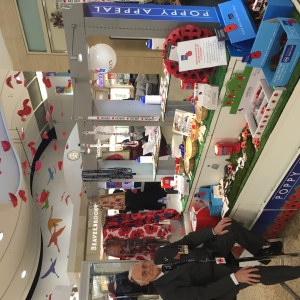 Poppy making workshops at The Mall Luton
