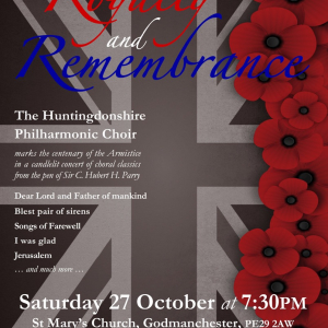 Huntingdonshire Philharmonic Choir Concert