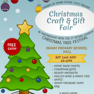 Friends of Isham School Christmas Gift & Craft Fair