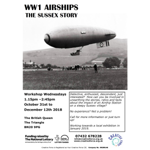 World War 1 Airships : The Sussex Story