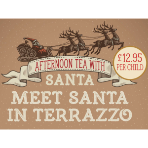 AFTERNOON TEA WITH SANTA AT LE FRIQUET GARDEN CENTRE
