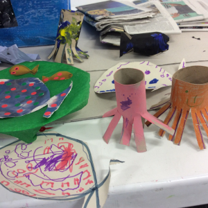Saturday Playdates:  Turn your world upside-down workshop