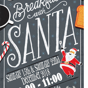 Breakfast with Santa at Calderfields