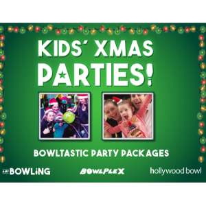 Kids Christmas Party Time at AMF Bowling