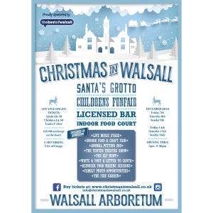 Christmas is coming to Walsall!