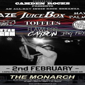 Camden Rocks All Dayer feat. Juicebox and more at The Monarch