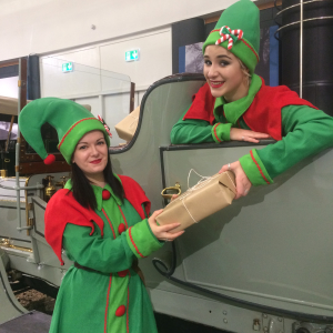 Festive Family Fun at the British Motor Museum