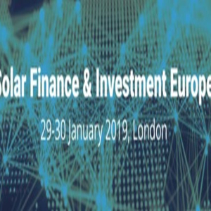 Solar Finance and Investment Europe Conference in London