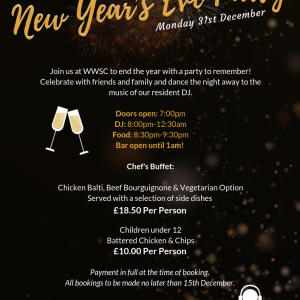 New Year's Eve Party at West Warwicks