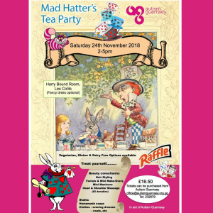 CHARITY MAD HATTER'S AFTERNOON TEA