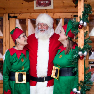 Santa's Grotto launch at St Tydfil Shopping Centre